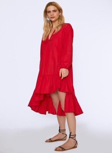Quzu Quzu Kırmızı Elbise Kırmızı